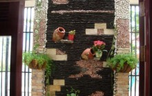 Nghệ thuật trang trí tường bằng Tranh Đá