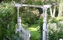 Những mẫu cổng nhà vườn đẹp